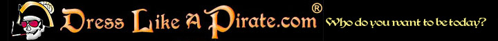 Dress Like a Pirate Retina Logo