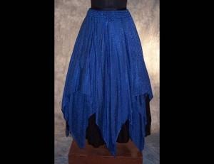 Satin Jacquard Gypsy Skirt