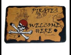 Pirate Door Mat