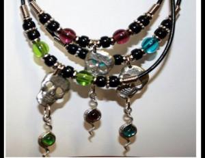 Skull & Snake Necklace