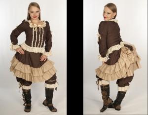 Persephone Mini Bustle Skirt