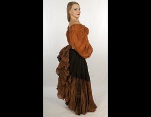 23 Yard Wave Dye Petticoat Skirt