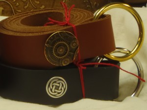Smooth Leather O-Ring Belt