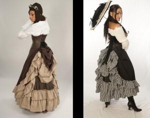 Persephone Full Length Bustle Skirt