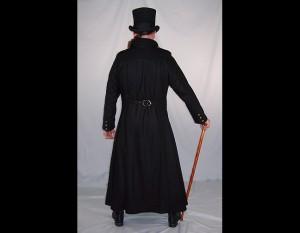 Long Wool Gothic Coat