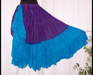 23 Yard Skirt in 2 Tone
