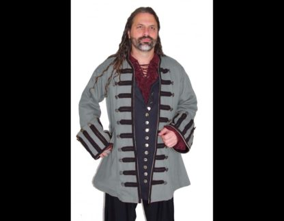 Ansell Frock Coat in Gray