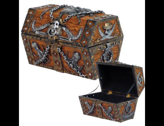 Kraken Pirate Treasure Chest – Dress Like a Pirate